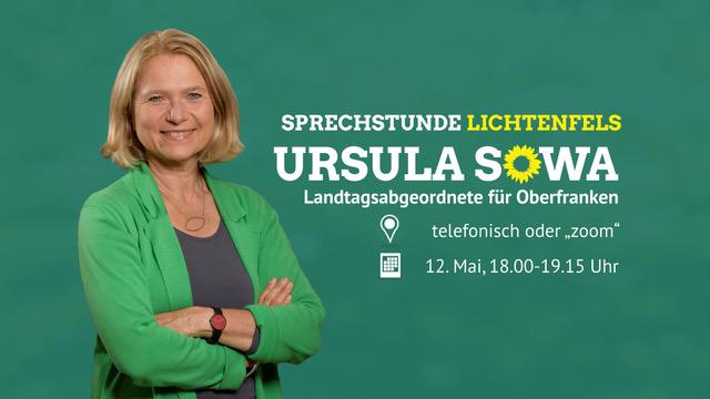 MdL Ursula Sowa lädt ein zur Bürger:innen-Sprechstunde für den Landkreis Lichtenfels
